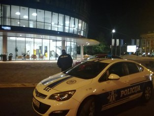 Capital Plaza,dojava o bombi