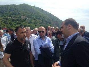 Žičara, protest, rušenje, Milutin Tripković, Dragan Krapović