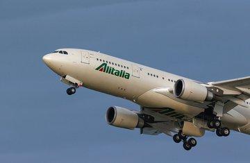 Alitalija, avion