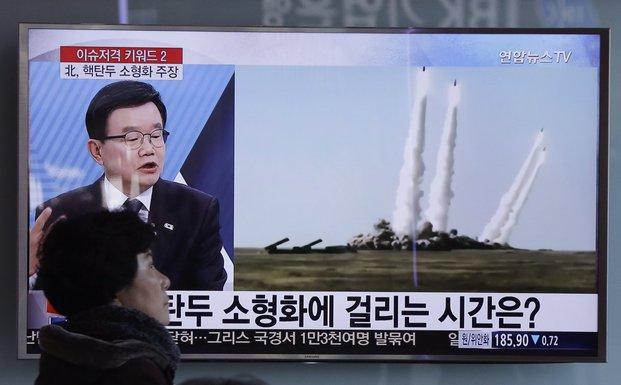 Sjeverna Koreja, balistički projektili