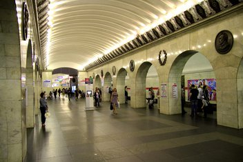 Sankt Petersburg, metro