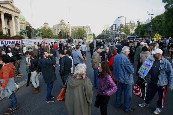 Protest protiv diktature