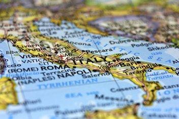 Italija mapa