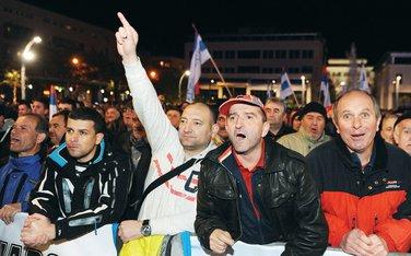 anti NATO protest