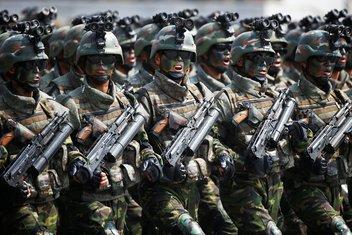 Sjeverna Koreja proslava