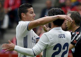 Isko i Hames Rodriges Real Madrid