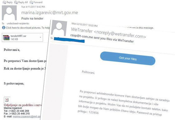 mejlovi Vlade i Aca