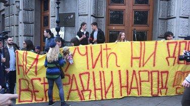 Beograd protest protiv diktature