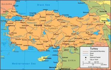 Turska mapa