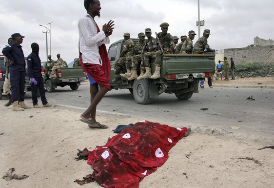 Somalija, napad