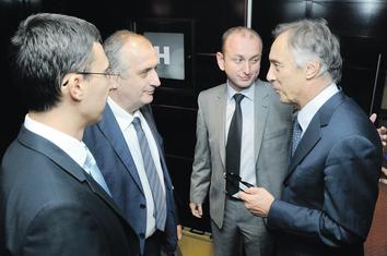 Miodrag Lekić, Predrag Bulatović, Vladislav Bojović, Milan Knežević