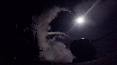 SAD vazdušni napad Sirija