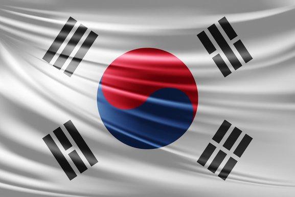 Južna Koreja zastava