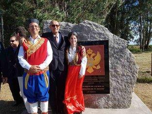 spomenik crnogorskim iseljenicima Urugvaj