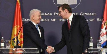Duško Marković, Aleksandar Vučić