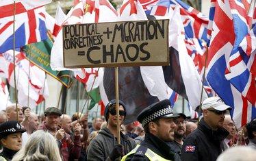 London, protest