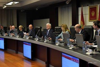 Vlada Crne Gore, sjednica