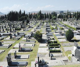 groblje, Čepurci