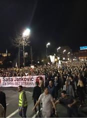 Janković miting u Beogradu