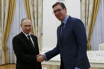 Vladimir Putin, Aleksandar Vučić