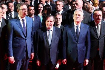 Aleksandar Vučić, Gerhard Šreder