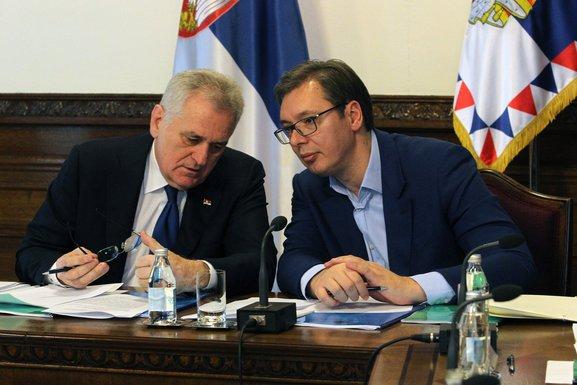 Toma Nikolić, Aleksandar Vučić