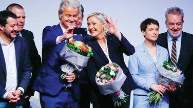 Gert Vilders, Marin Le Pen