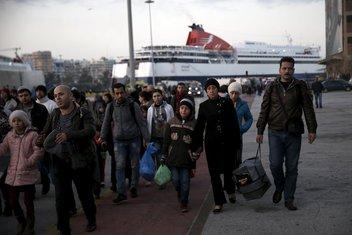 izbjeglice, Grčka