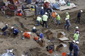 Filadelfija, gradilište