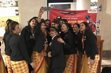 ženska posada, Air India