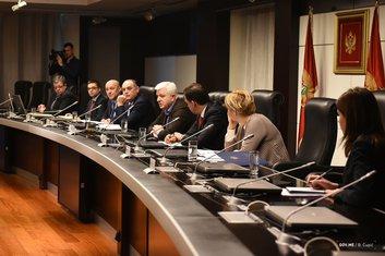 Duško Marković, sastanak sa  direktorima organa inspekcije
