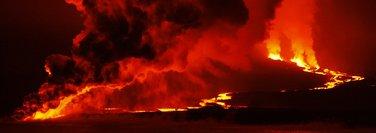 Galapagos, vulkan