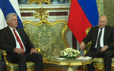 Dijaz Kanel i Putin