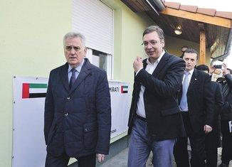 Tomislav Nikolić, Aleksandar Vučić