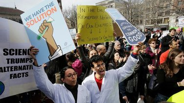 Boston protest naučnika