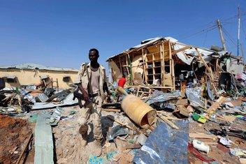 Mogadiš, eksplozija