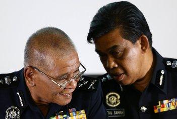 Malezija, policija
