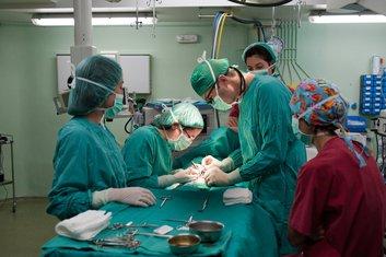 operacija, operaciona sala