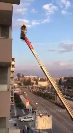 Podgorica, spasavanje žene