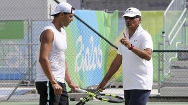 Rafa i Toni Nadal