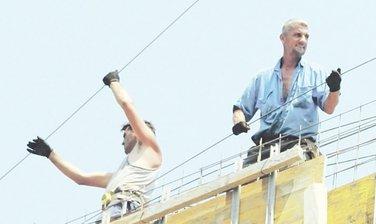 radnici, građevina