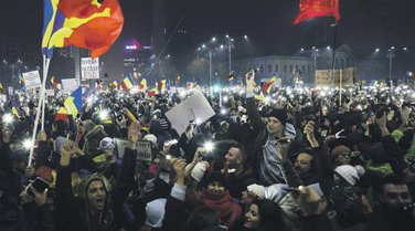 Bukurešt protest