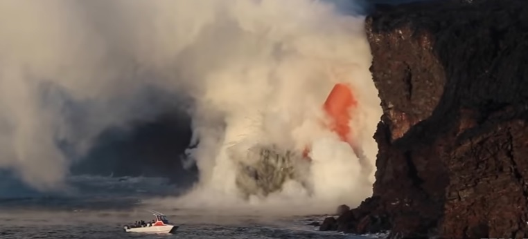 lava Tihi okean