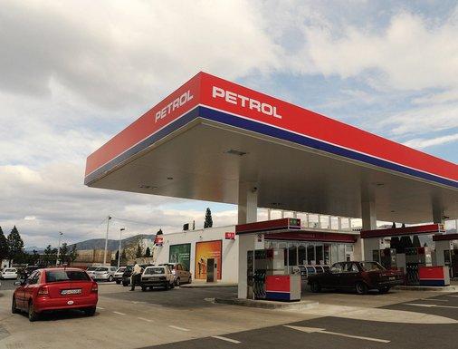 Petrol, benzinska pumpa