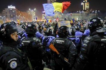 Rumunija, demonsttracije