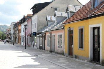 Cetinje, Njegoševa ulica