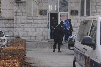 Hapšenje u Nikšiću