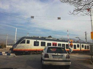 voz, pružni prelaz zagorič