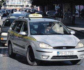taksi Podgorica
