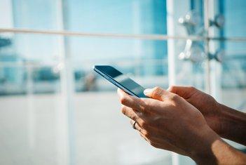 SMS, mobilni telefon